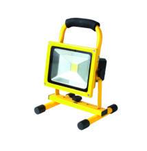 Újratölthető LED fényvető, 20 W, 5000 K