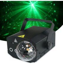 LED-es partyfény 16 féle mintával