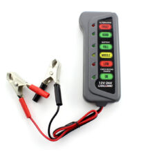 Akkumulátor, generátor teszter 12 - 24 V