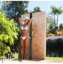 Kerti zuhany, napelemes
