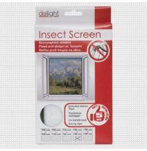 Szúnyogháló ablakra,fehér - 150x150 cm
