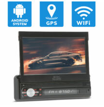 "MNC ""Premiere"" érintőkijelzős fejegység - 7"" WiFi, Bluetooth, GPS 1 DIN - 12V"