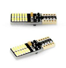 LED izzó CAN115 T10-2W-168l-24 SMD LED 2 db/bliszter