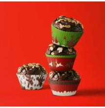 Muffin papír szett - színes