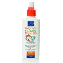 Isispharma Uveblock Kids SPF50+ Gyermek fényvédő spray 150ml