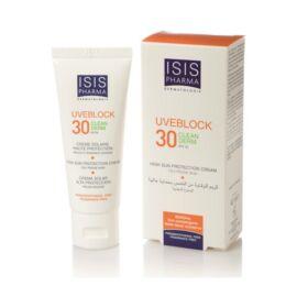 Isispharma Uveblock Clean Derm SPF30 krém mitesszeres-pattanásos bőrre 40ml