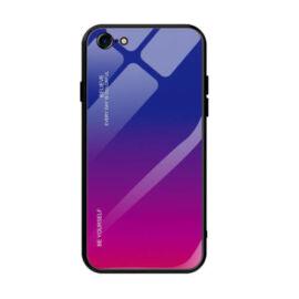 iPhone 7 / 8 / SE 2020 kék-vörös színátmenetes tok