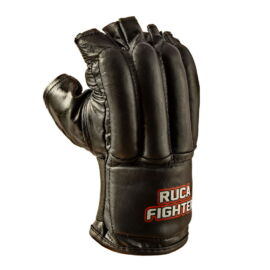 Ruca Fighter Zsákolókesztyű (nyitott) / fekete / S