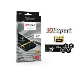 Samsung A405F Galaxy A40 hajlított képernyővédő fólia - MyScreen Protector 3D Expert Full Screen 0.2 mm - transparent
