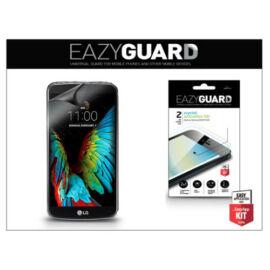 LG K10 K420N képernyővédő fólia - 2 db/csomag (Crystal/Antireflex HD)
