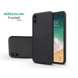 Apple iPhone XS Max hátlap - Nillkin Frosted Shield - fekete