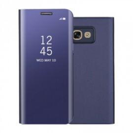Samsung Galaxy A70 / A70s SM-A705F / A707F, Oldalra nyíló tok, hívás mutatóval, Smart View Cover, lila (utángyártott)