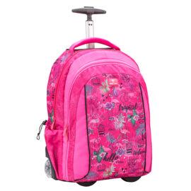 Belmil Trolley Hátitáska, Easy Go 338-45, Tropical Flamingo