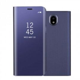 Samsung Galaxy J5 (2017) SM-J530F, Oldalra nyíló tok, hívás mutatóval, Smart View Cover, lila (utángyártott)