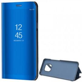 Huawei Mate 20 Pro, Oldalra nyíló tok, hívás mutatóval, Smart View Cover, kék (utángyártott)