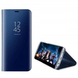 Huawei Mate 20 Pro, Oldalra nyíló tok, hívás mutatóval, Smart View Cover, sötétkék (utángyártott)
