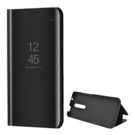 Xiaomi Redmi K20 / K20 Pro / Mi 9T / Mi 9T Pro, Oldalra nyíló tok, hívás mutatóval, Smart View Cover, fekete (utángyártott)