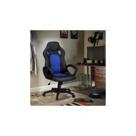 Gamer szék basic - kék
