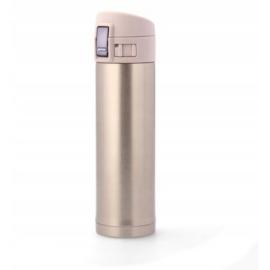 350 ml-es rózsaszín színű termosz