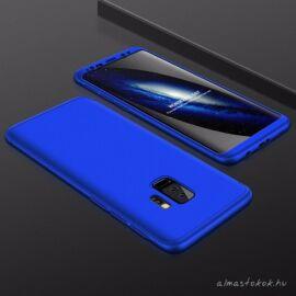 Samsung Galaxy S9 plus 360°-os kék, matt tok +kijelzővédő fólia