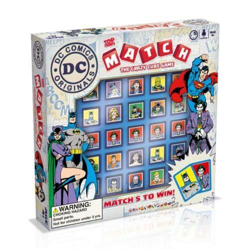 Match DC Superheroes