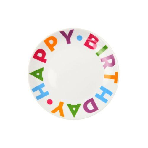 HAPPY BIRTHDAY tányér