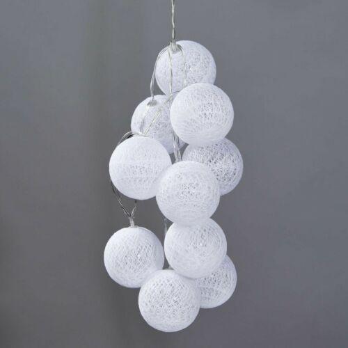 IN THE MOOD dekor égősor fehér 10 égő 6cm