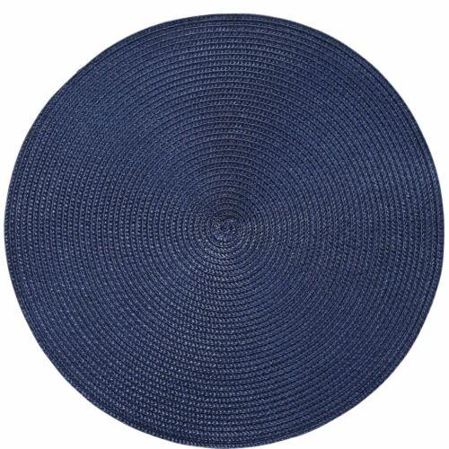 AMBIENTE alátét sötét kék kerek 38cm