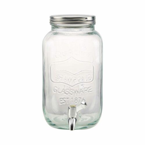 REFRESH italtartó üveg csappal 3,5l