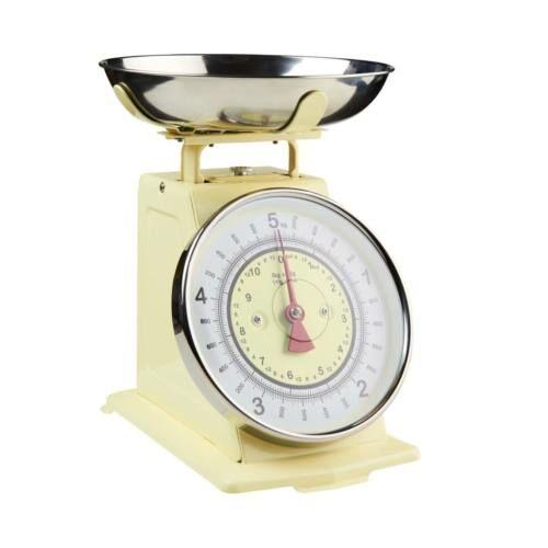 GIVE ME MORE konyhai mérleg 5kg-ig pasztell sárga
