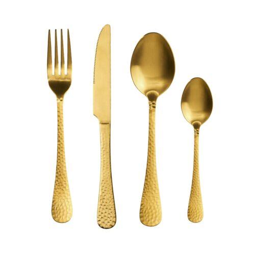 BARONET evőeszköz szett arany matt