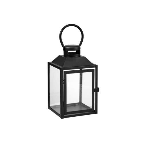 LIGHTHOUSE lámpás 24cm fekete