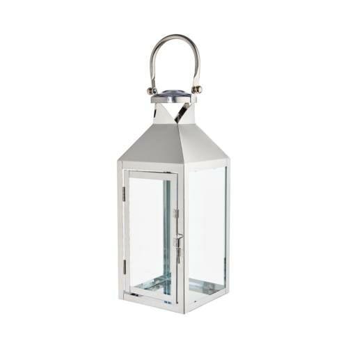 LIGHTHOUSE lámpás 47cm rozsdamentes acél