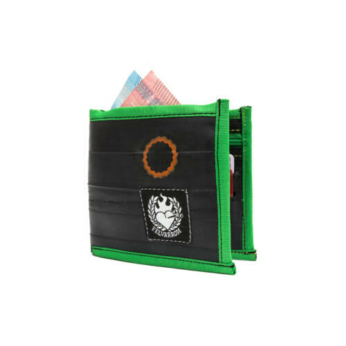 WalletTube kerékpárbelső pénztárca, zöld