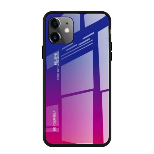 iPhone 11 kék-vörös színátmenetes tok