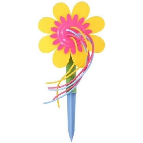 Játék szökőkút leszúrható virág 19x37cm