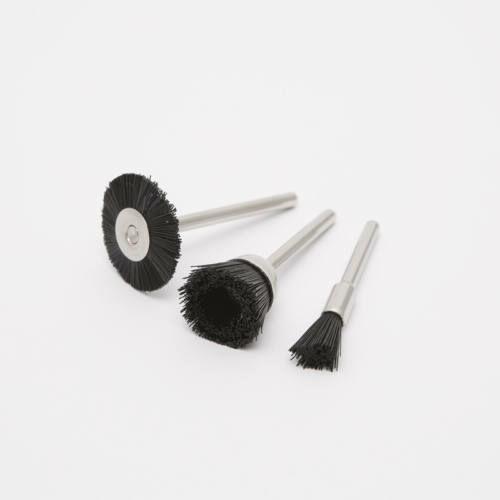 Tisztítókefe-szett (műanyag) 3 db/bliszter