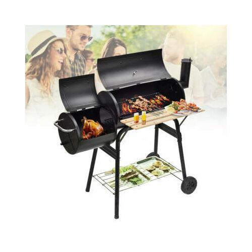 2in1 faszenes BBQ grill és füstölő