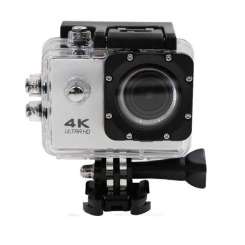 4K wifi Soprt Akciókamera vízálló tokkal tartozékokkal fehér
