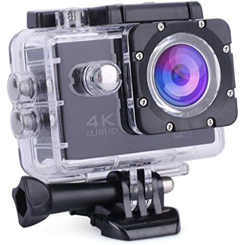 4K wifi Soprt Akciókamera vízálló tokkal tartozékokkal fekete