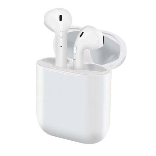 i15 TWS vezeték nélküli Bluetooth headset fülhallgató fehér