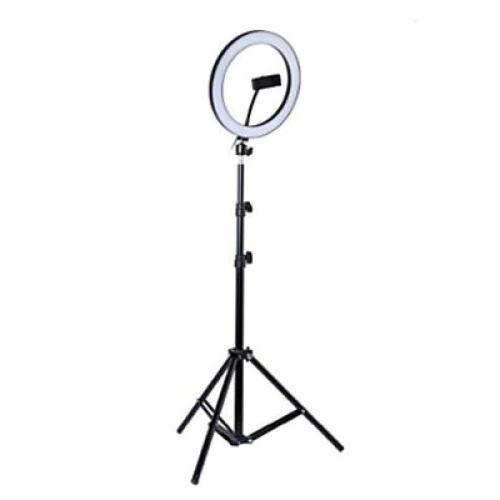 RGB Selfie Lámpa Állvánnyal Színes 26 cm