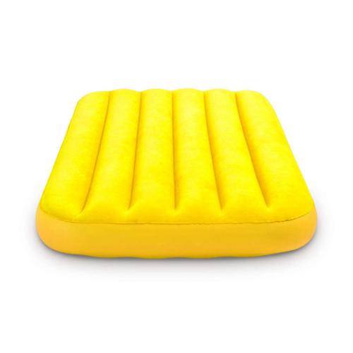 INTEX Cozy Kidz felfújható matrac, sárga, 88 x 157 x 18cm (66803)