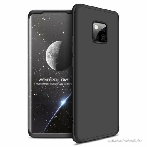 Huawei Mate 20 pro fekete 360°-os tok +kijelzővédő fólia