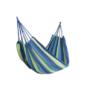 Kép 1/4 - Kétszemélyes függőágy, kék, teherbírás 150 kg