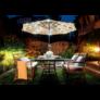 Kép 3/11 - Napelemes dekor fényfüzér napernyőhöz