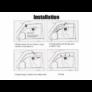 Kép 7/7 - Napelemes autó szellőztető ventilátor